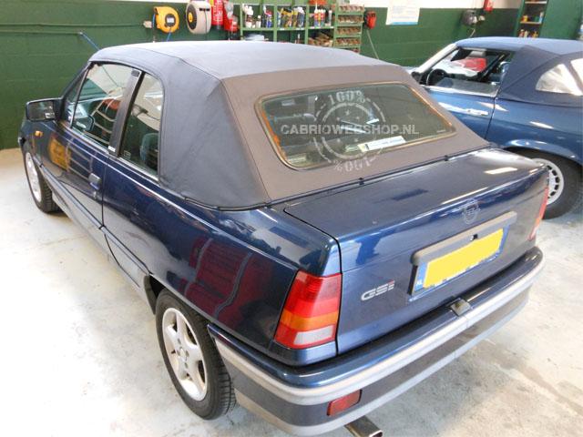Opel kadett pvc kap